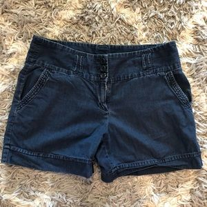 🌺 Ann Taylor Denim Women's Shorts Size 6